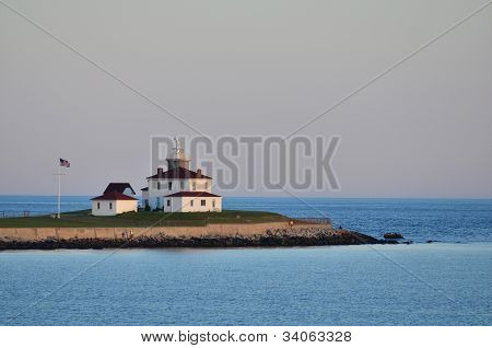 Summer Afternoon Lighthouse