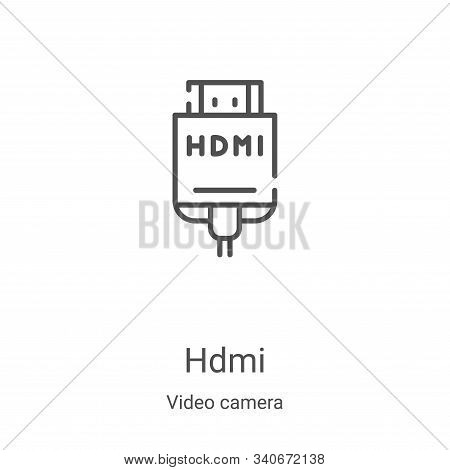hdmi icon isolated on vector photo free trial bigstock bigstock