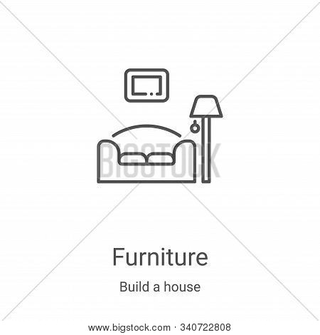 furniture icon isolated on white background from build a house collection. furniture icon trendy and