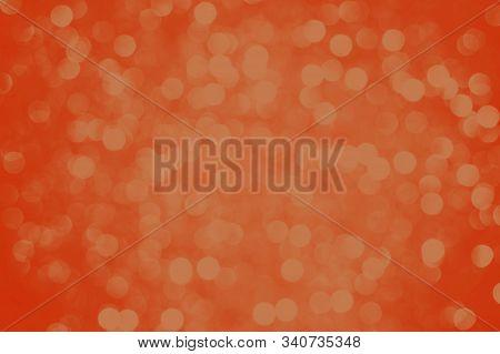 Bright Orange Lush Lava Gradient Background. Blurred Lights Background