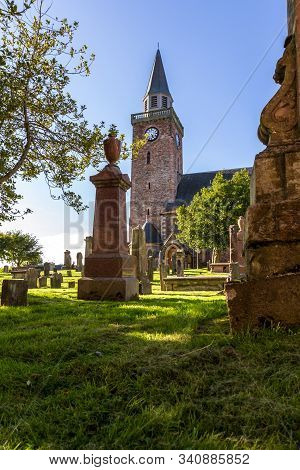 Cemetery In The Old High Church