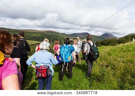 Walk Leader In The Highlands