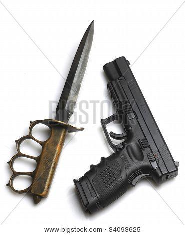 Knife to a Gun Fight?