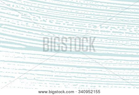 Grunge Texture. Distress Blue Rough Trace. Classic Background. Noise Dirty Grunge Texture. Enchantin
