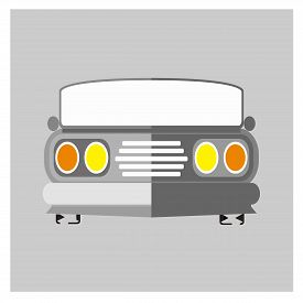 Car Logo, Old Car Icons, Classic Car Icons Vector, Objects Vintage Car Icons, Car Icon Images, Car I
