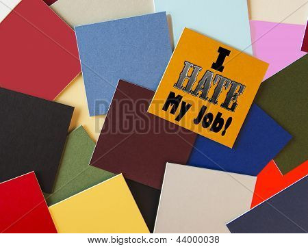 I Hate My Job! For Business, Teaching, Office & Workers Everywhere!