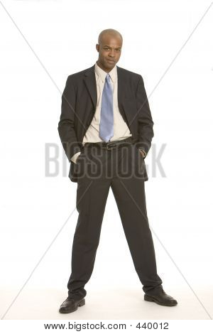 Man With His Hands In His Pockets
