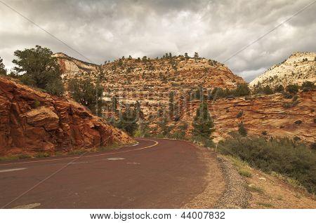 Zion Nationalpark road
