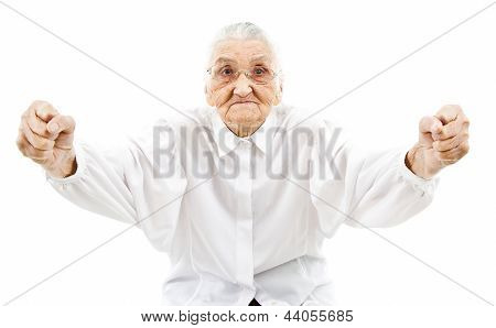 Grandma As A Supporter