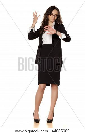 worried business woman
