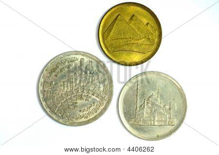 Three Egyptian Coins
