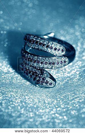 Golden Jewelry Accessories - Ring Serpent