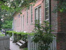 Colonial Row House