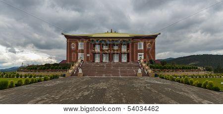 Rinpoche Bagsha Datsan Monastery In Ulan-ude, Russia