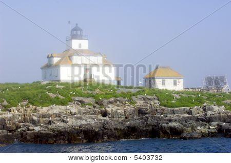 Egg Rock Lighthouse Maine
