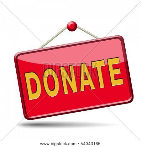 donate and give to charity help fund raising give and raise money donation