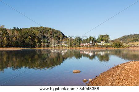 Country Lake Scene
