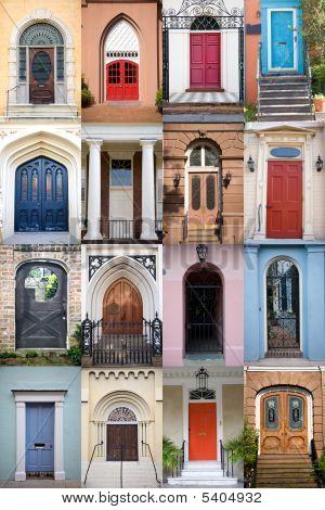 Doors Of Charleston, South Carolina