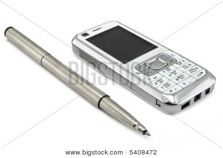 Mobile And Pen
