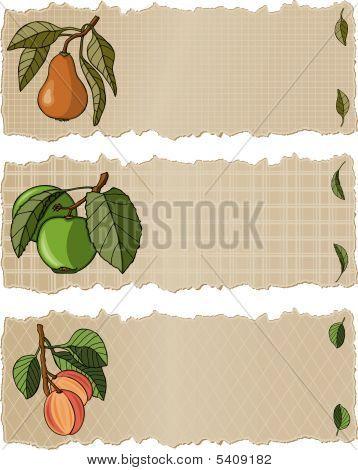 Fruit Banners App
