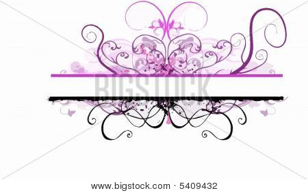 Black Violet Copy-space Background