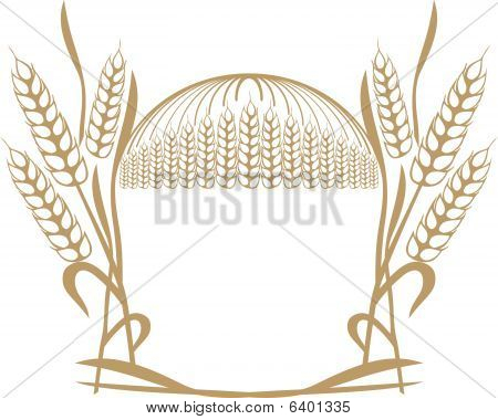wheat ears composition