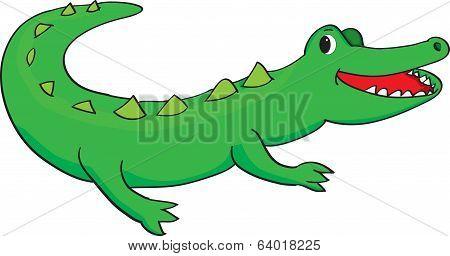 Happy Alligator