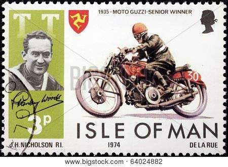 Stanley Woods Stamp