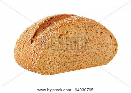 Homemade Bread With Sesame Seeds