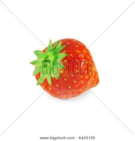 Fresh Strawberry (isolated On White)