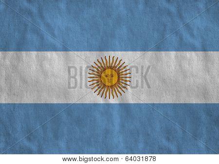 Flag of Argentian