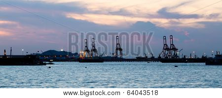 Port At Dusk