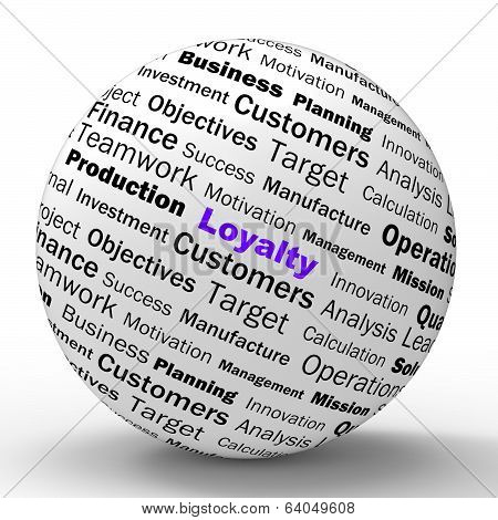 Loyalty Sphere Definition Shows Honest Fidelity And Reliability