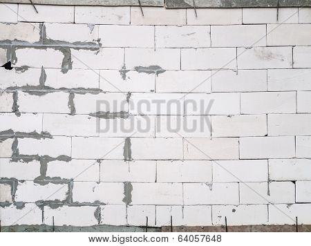 Untidy Wall Built
