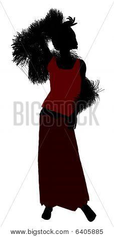 1920 Female Silhouette