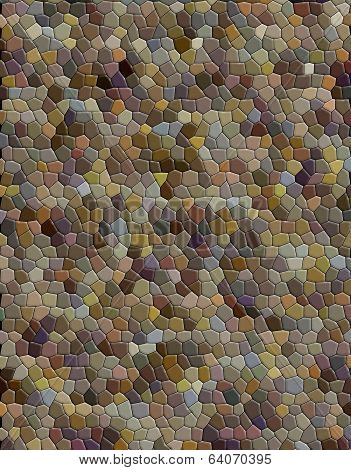 Abstract mosaic imitation animal gray beige leather background poster