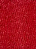 Abstract mosaic imitation animal  red leather background poster