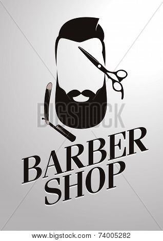 Barbershop men's hipster