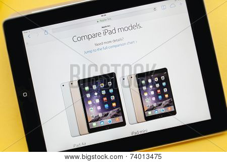 New Apple Computers Product Launches - Ipad Air 2