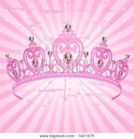 Princess crown desktop wallpaper