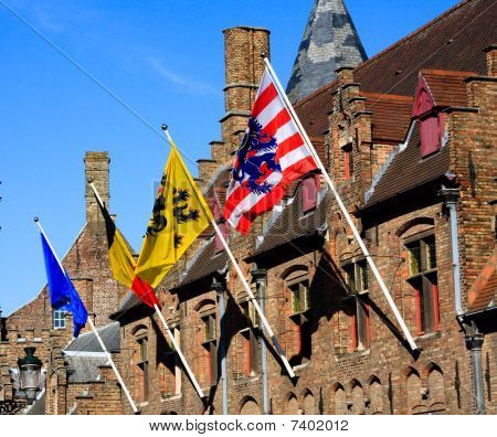 The Flags Of Bruges