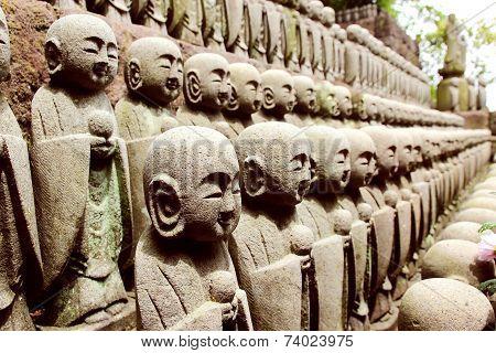 Kamakura Hasedera Sculptures
