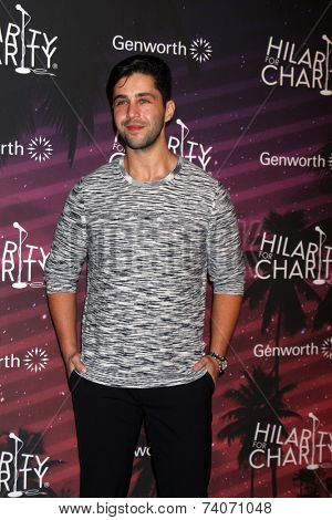 LOS ANGELES - OCT 17:  Josh Peck at the Hilarity for Charity Benefit for Alzheimer's Association at Hollywood Paladium on October 17, 2014 in Los Angeles, CA