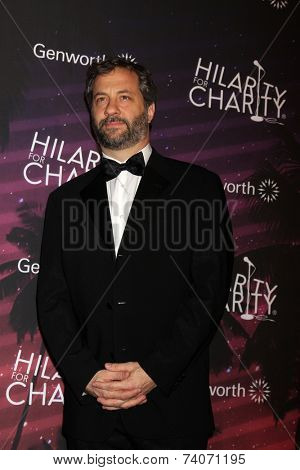LOS ANGELES - OCT 17:  Judd Apatow at the Hilarity for Charity Benefit for Alzheimer's Association at Hollywood Paladium on October 17, 2014 in Los Angeles, CA