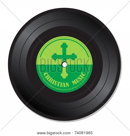 Christian music vinyl record