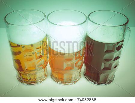 Retro Look German Beer