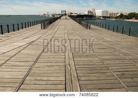 Dock Ore Company Rio Tinto. Huelva. Spain