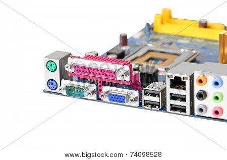 Computer motherboard, CPU socket