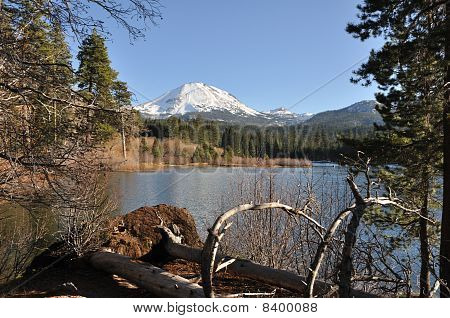 Manzanita Lake in Lassen National Park