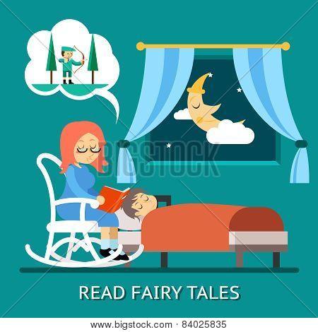 Read fairy tales